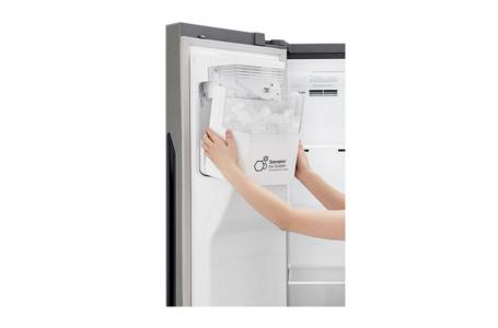 Side By Side Kühlschrank B Ware : Lg gsj nsuz side by side hin zu kimm