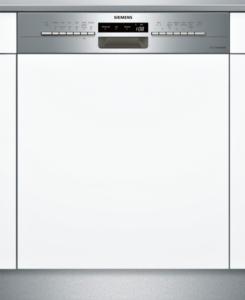 SIEMENS SN536S00HD Teilintegrierter Geschirrspüler, 60 cm, Edelstahl