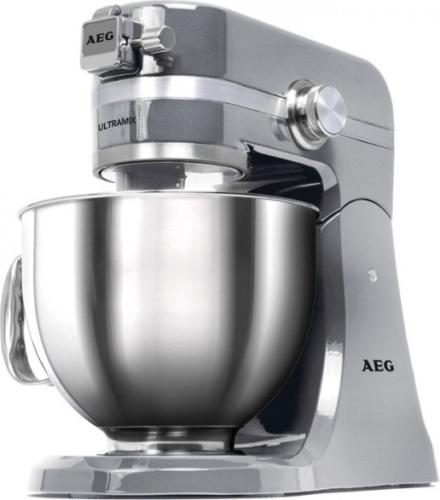 AEG KM 4700 UltraMix Küchenmaschine Stainless Steel