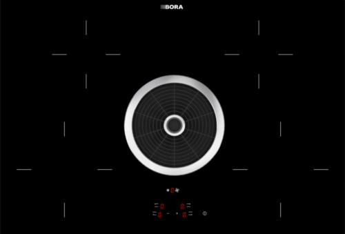 BORA BIA-014 Basic Induktionskeramik-Kochfeld mit Kochfeldabzug Abluft
