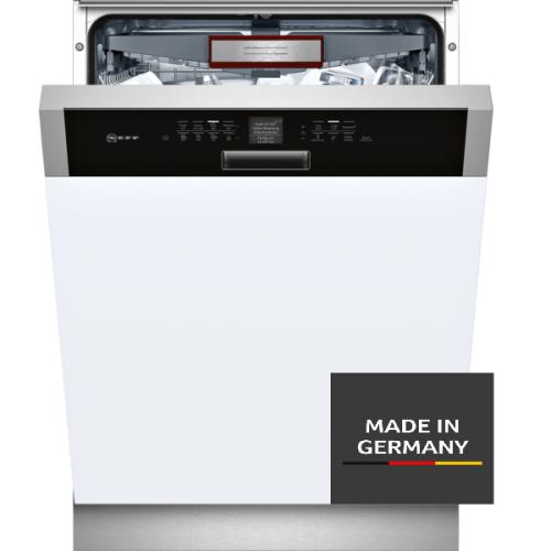 NEFF S426T80S1E Geschirrspüler teilintegriert N70 / 60 cm / Oberkorb mit RackMatic / Zeolith-Trocknung