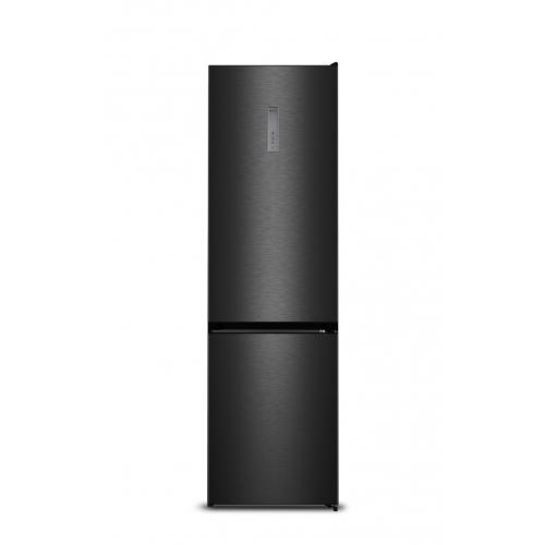 Hisense Kühl-/Gefrierkombination NoFrost BlackSteal 200cm