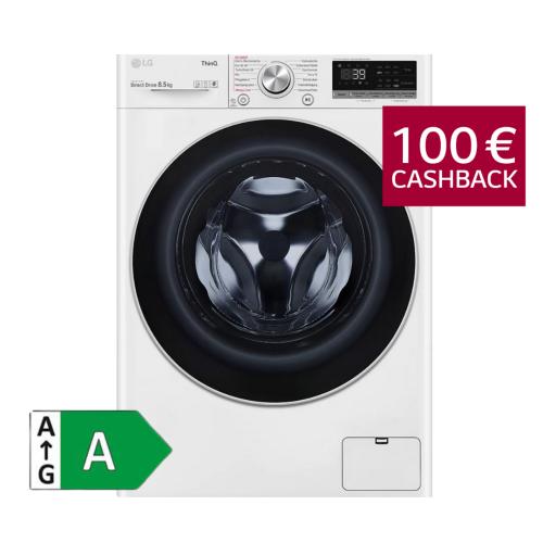LG F2V7SLIM8E Waschmaschine 8,5kg (nur 47,5 cm tief)