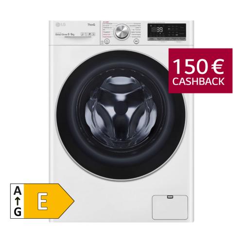 LG V7WD906A Waschtrockner 9/6kg